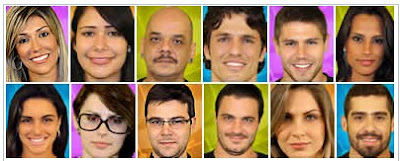 Fotos Participantes do BBB 12