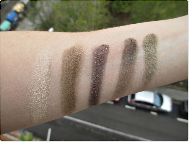 Deborah Milano - Paleta Perfect Smokey Eye 05 - Swatches
