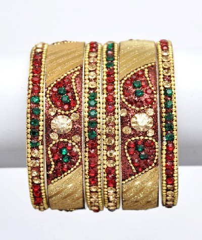 the latest trend bridal gold diamonds bangles 2013 photo