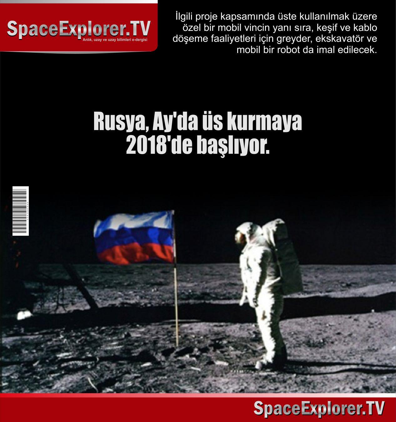 Rusya, Ay, Ay'da üs, Roskosmos,