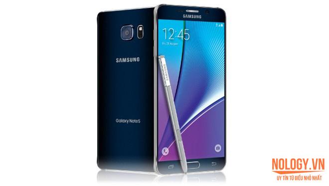 Thiết kế màn hình của Samsung galaxy note 5