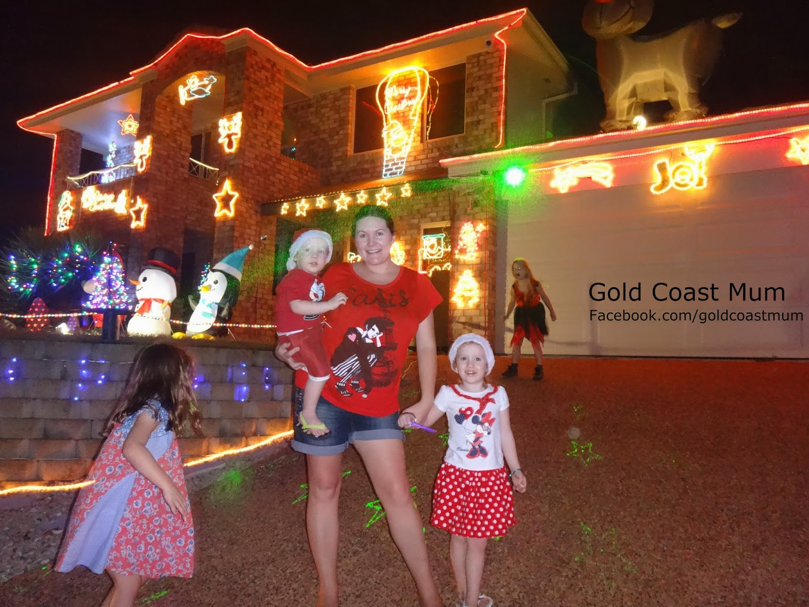 Why do we decorate with christmas lights - And Last Night We Enjoyed Viewing The Christmas Lights Around Forest Oak Dr Upper Coomera