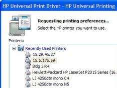 برنامج HP Universal Print Driver لتعريف طابعة اتش بي