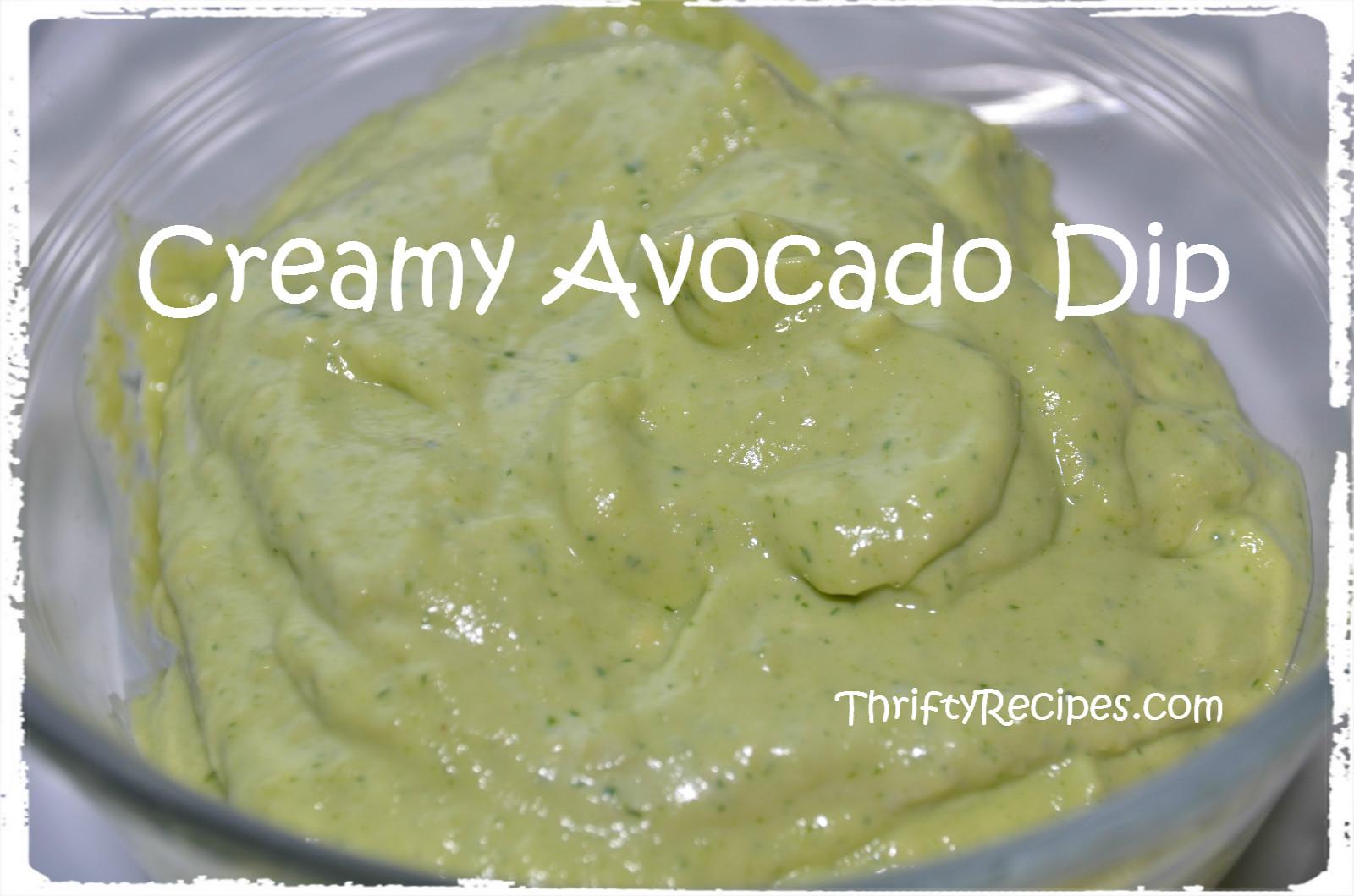 Creamy Guacamole Dip Creamy avocado dip recipe