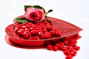 Une lettre d'amour avec des fleurs