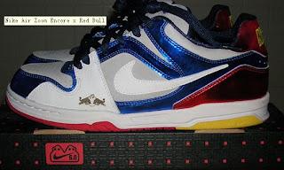 Nike 6.0 Air Zoom Encore Red Bull