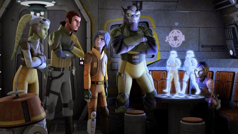 Imagen del episodio piloto de Star Wars Rebels