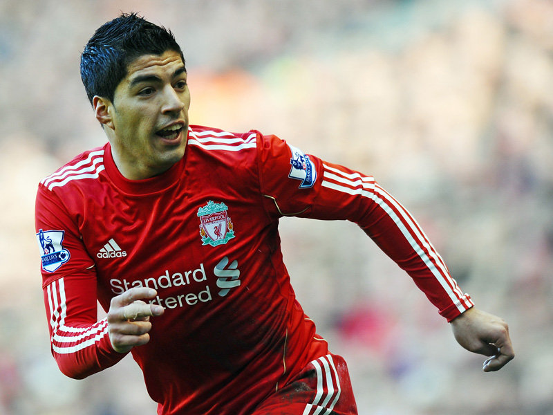 Luis suarez liverpool 2011 2012 wallpapers sports mania - Suarez liverpool wallpaper ...