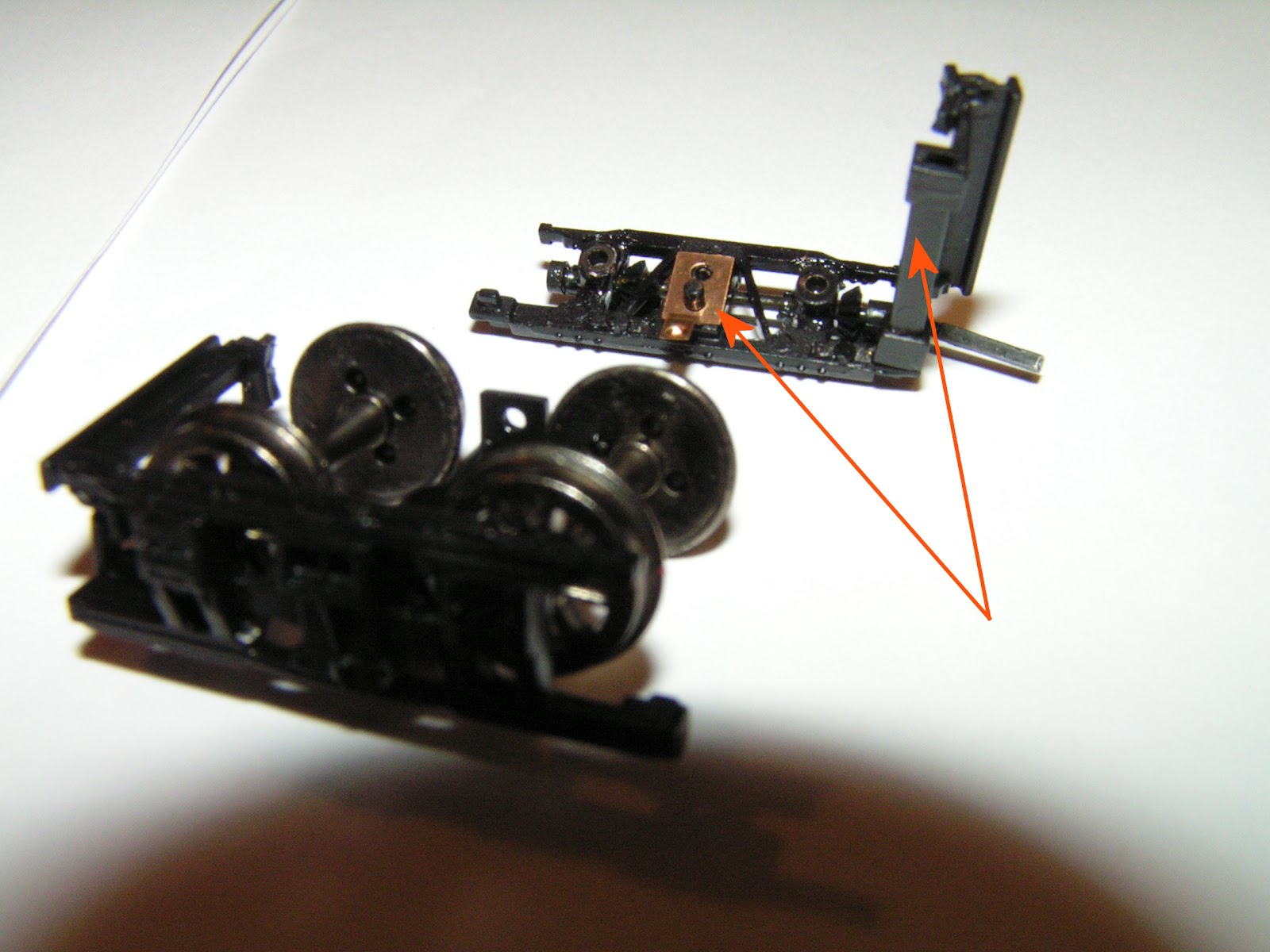 Geared steam repairing the bachmann shay line shaft gears ho scale