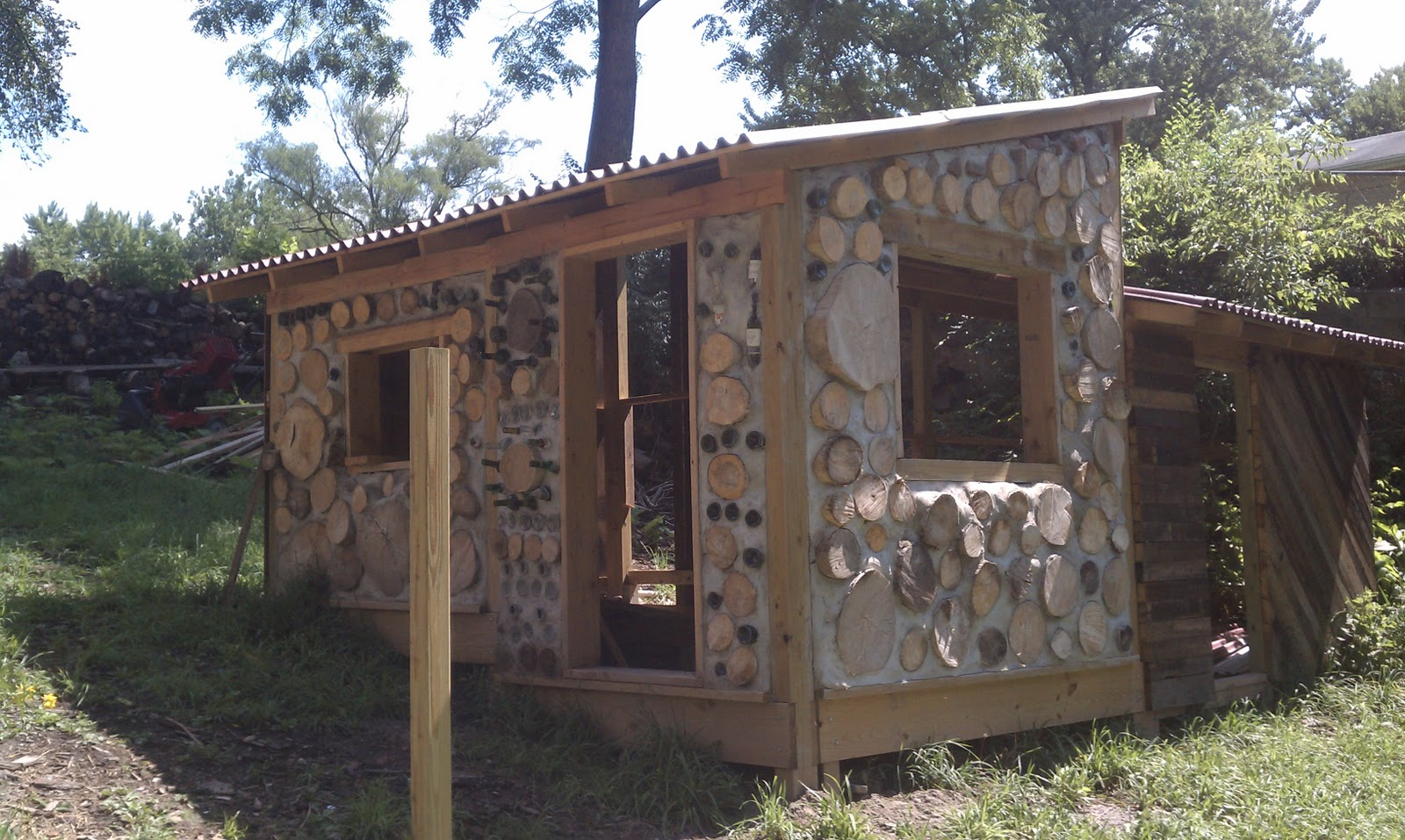 Topic cord wood shed plans shed cam for Cordwood building plans