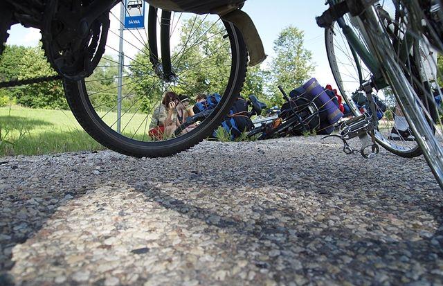 Viaje-bicicleta