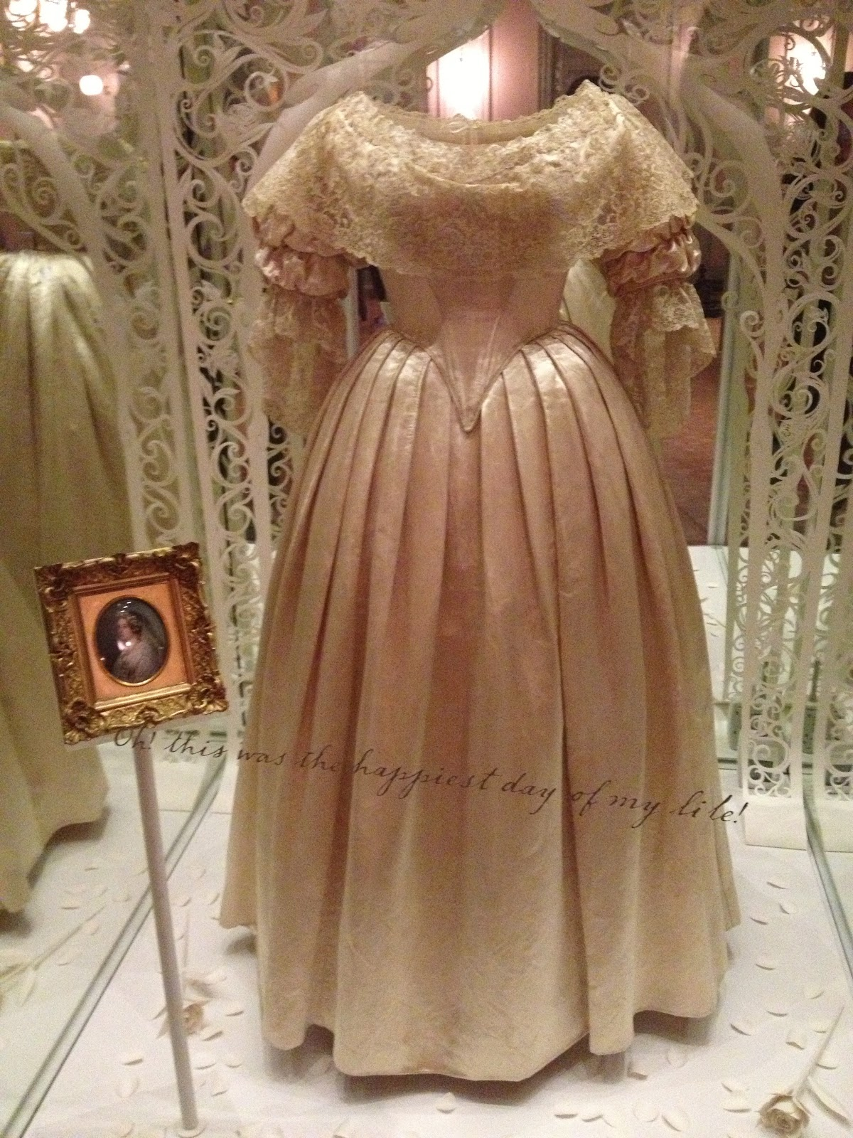 Kensington Palace Royal Wedding Dresses Book : Dressed in time kensington palace part queen victoria s dresses