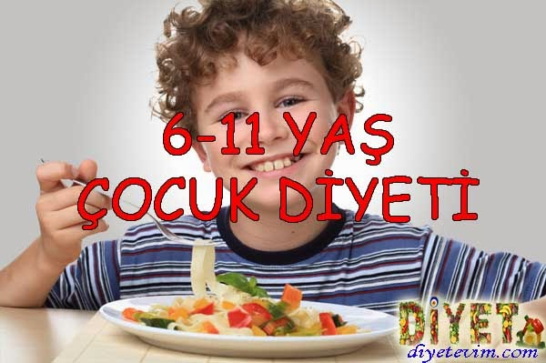 11 yaş diyeti