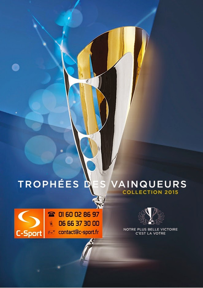 c sport catalogue troph es des vainqueurs 2015 coupes m dailles troph es. Black Bedroom Furniture Sets. Home Design Ideas