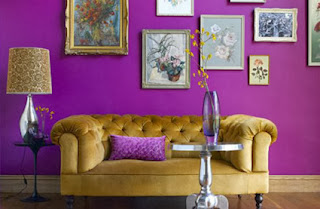 Purple interiors