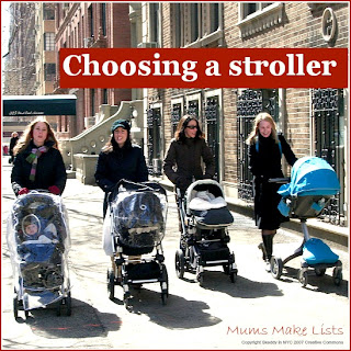 Choosing a stroller