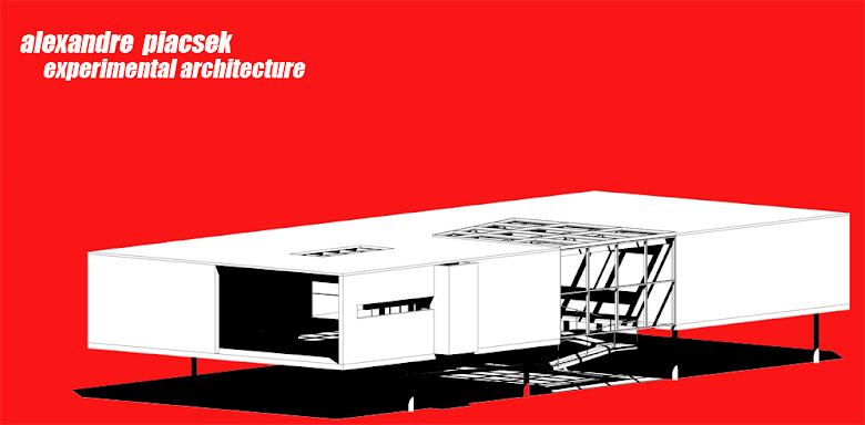 Alexandre Piacsek experimental architecture