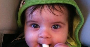 baby banana brush teether: Baby Banana Bendable Training ...