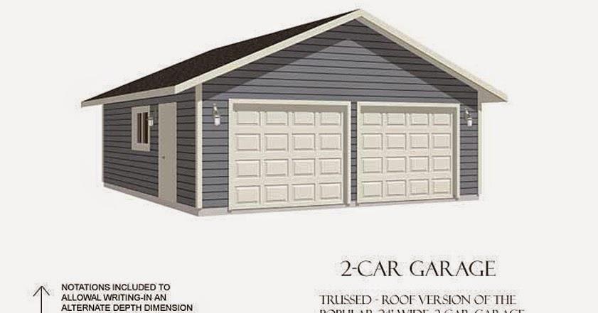 Garage Plans Blog Behm Design Garage Plan Examples