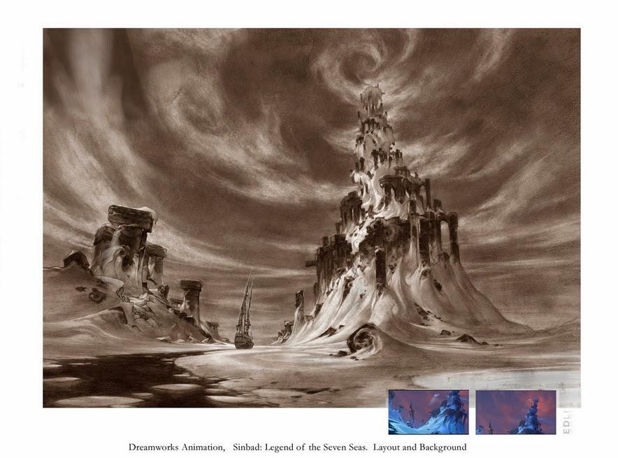Legend of the Seven Seas Layout & BG by Ed Li