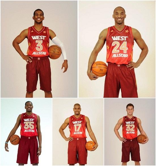 Kd1 All Star NBA ALL STARS 2012 WEST WINS