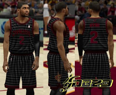 NBA 2K13 Cleveland Cavaliers Fictional Jersey Mod