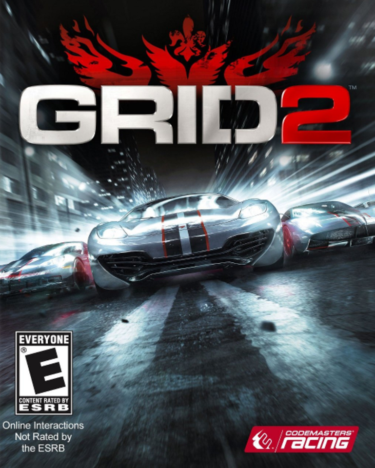 GRID 2 PC Game Cover