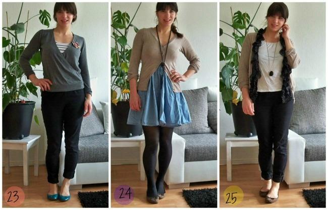 DIe Fashion Challenge wie ich mit einer minimalistischen Garderobe einen Monat lebe mit nur 12 Klamotten