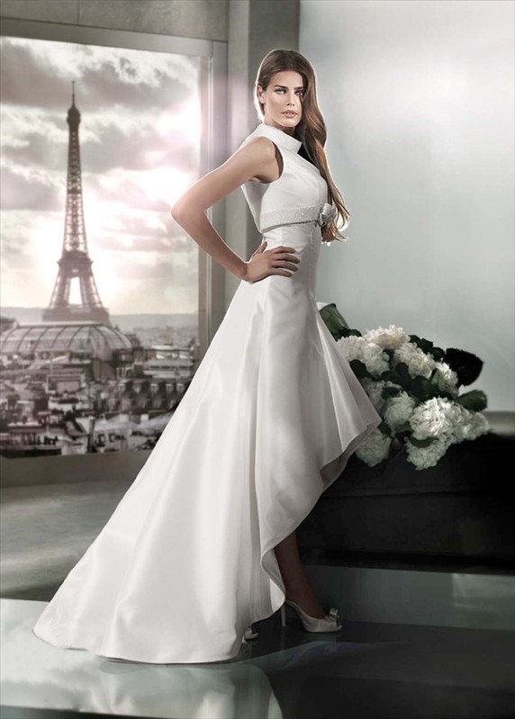 Paris Wedding Dresses Fell The Romance Of
