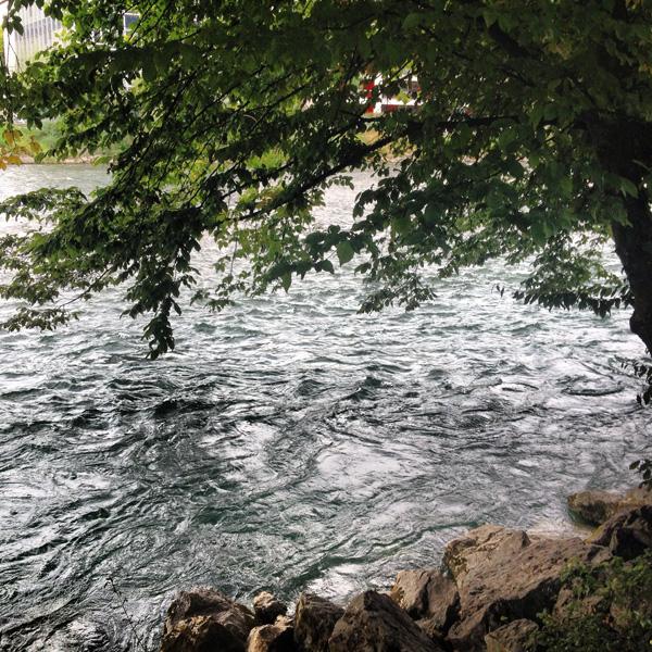 Zürich jogging Limmat