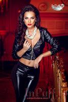 Jacheta piele ecologica neagra (Atmosphere Fashion)