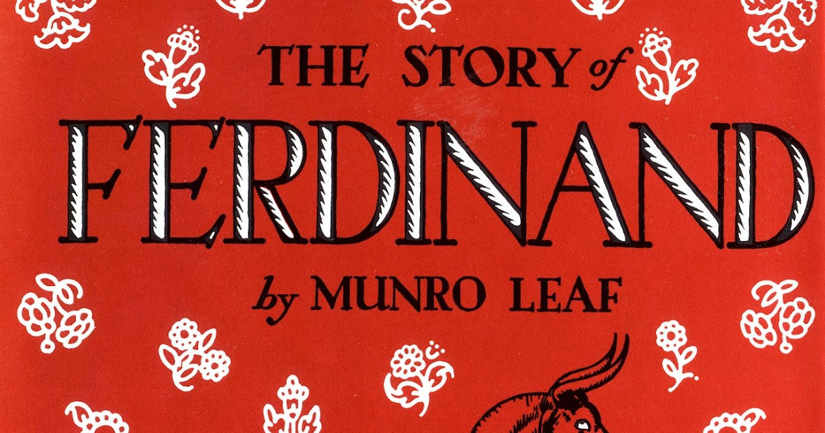 Story of Ferdinand/ Robert Lawson/ hardback/ jacket/ Spain bull fight/ Leaf/1964