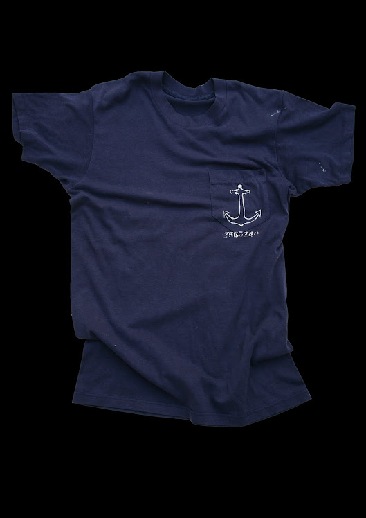 USN  MARINER NAVY POCKET TEE