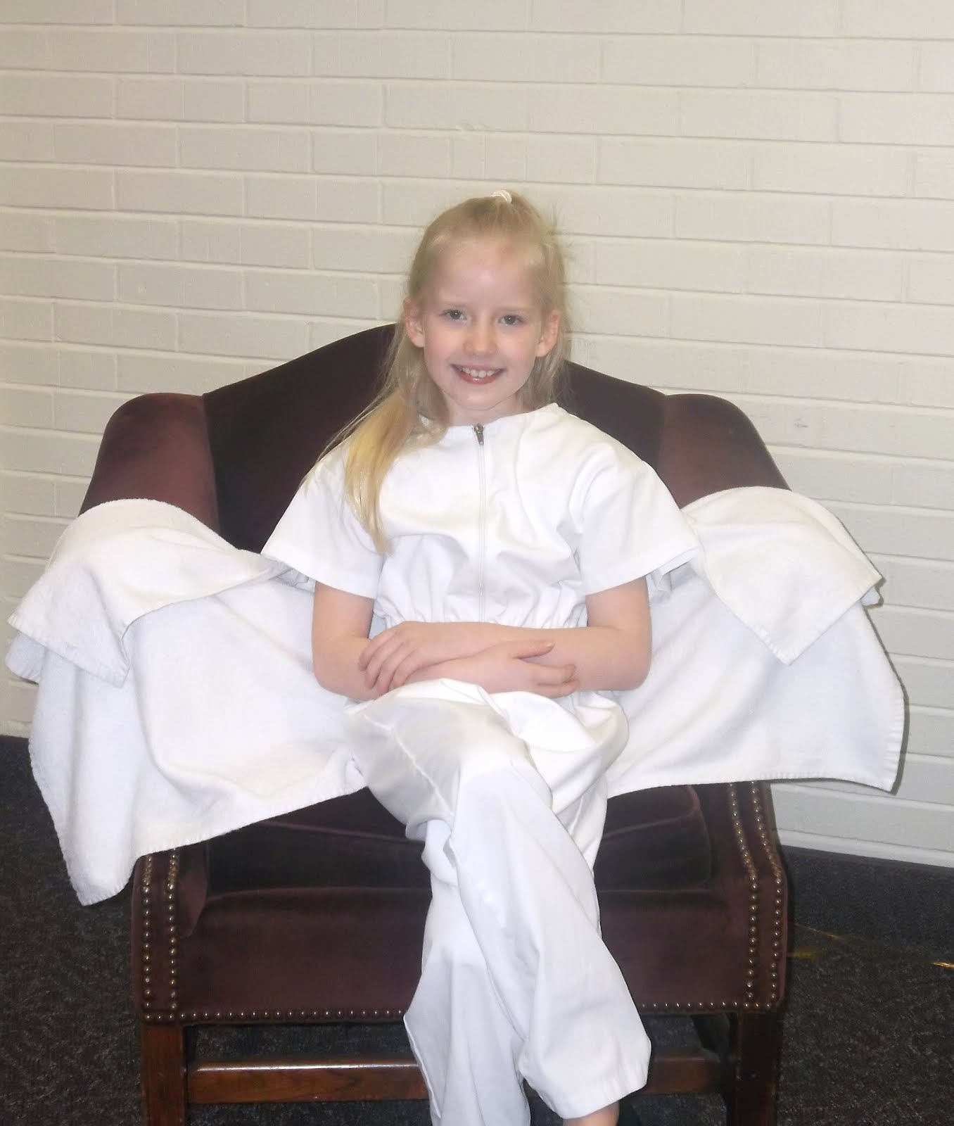 Pearls: A Mormon Baptism