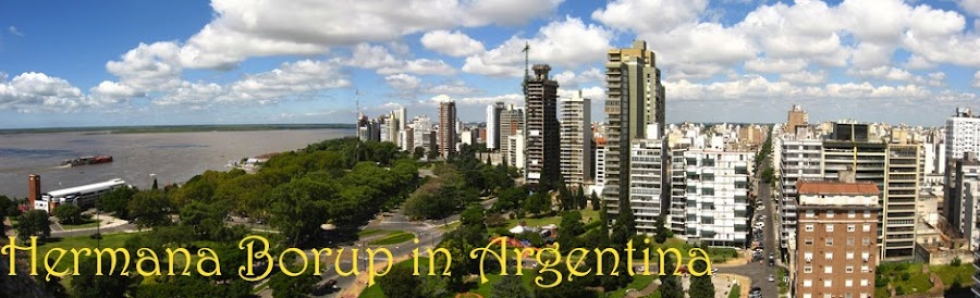 Hermana Borup in Argentina