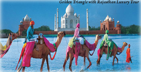 India Tours - Golden Triangle with Rajasthan Luxury Tour