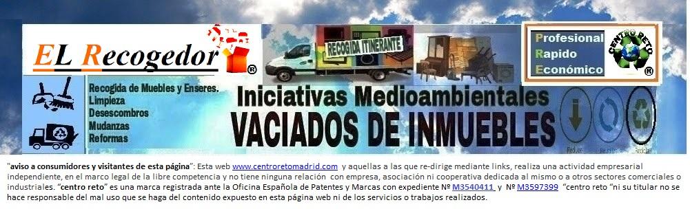 RECOGIDA DE MUEBLES Y ENSERES MADRID