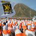 [Video] Hari Pahlawan, Pandu Keadilan Jatim Merah Putihkan Bromo