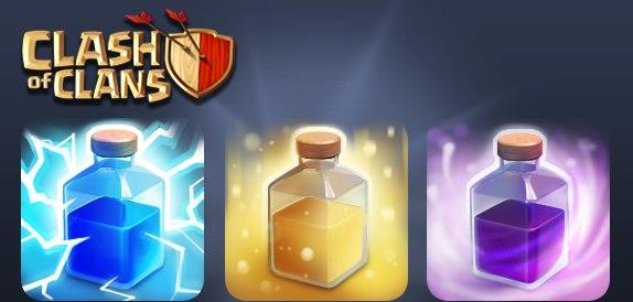 Clash of Clans Spell Factory