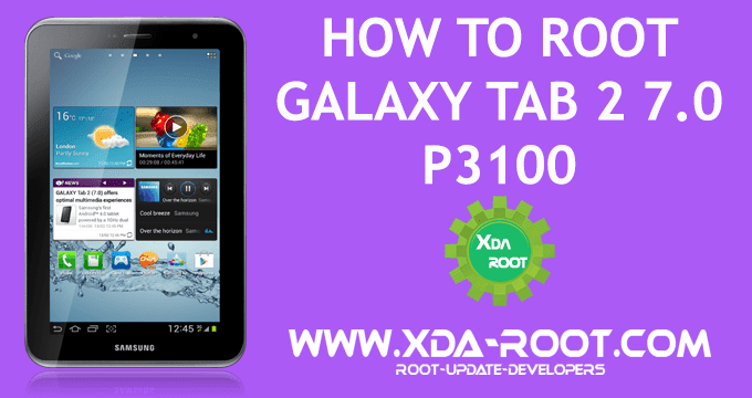 ROOT GALAXY TAB 2 7.0 P3100