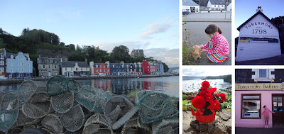 Tobermory town harbour