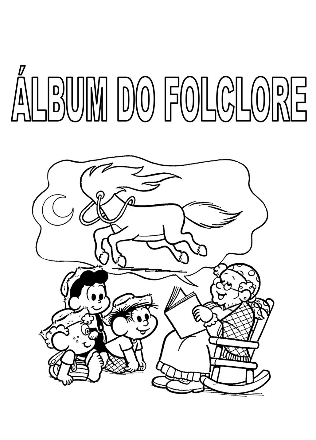 imagens para colorir folclore brasileiro - desenhos para imprimir e colorir do folclore brasileiro