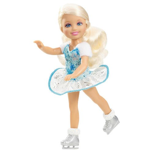 Кукла фигуристка на коньках 89
