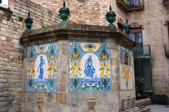 Drink Water Fountain Barcelona