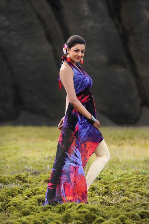 Kajal Agarwal Hot Back Show In Nayak kajal Agarwal Latest S...