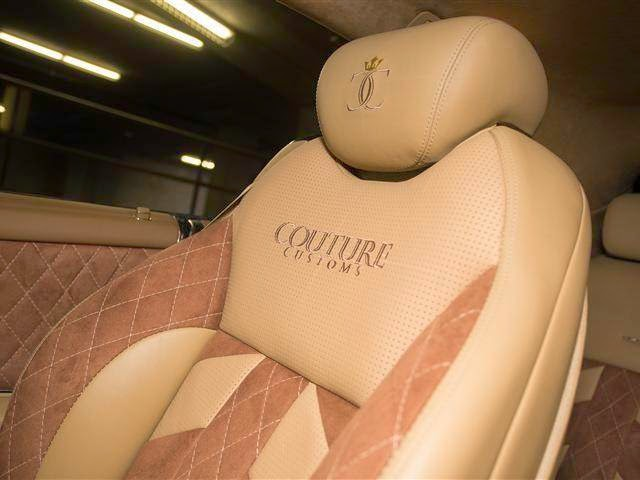 mercedes w216 cl 65 cuistom interior