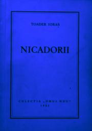 Toader Ioraș - Nicadorii Colecția Omul Nou - 1952