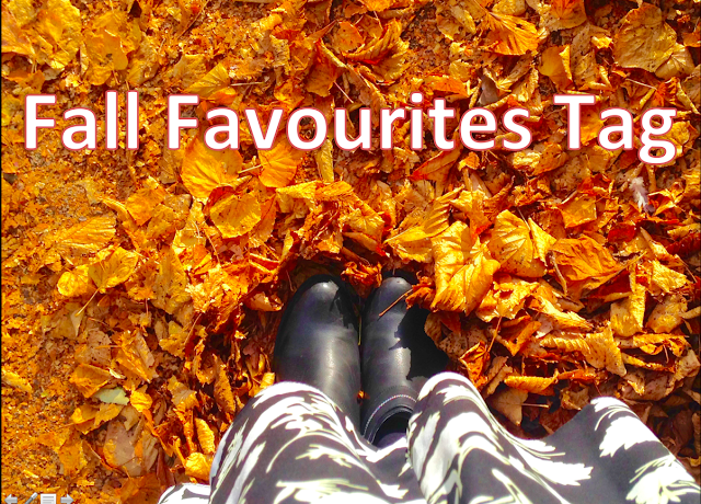 fall favourites tag autumn winter seasons