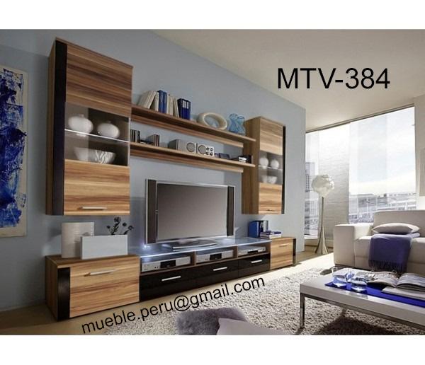 Muebles tv for Modelos de muebles de sala modernos