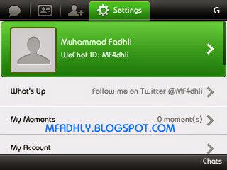 WeChat# Profil